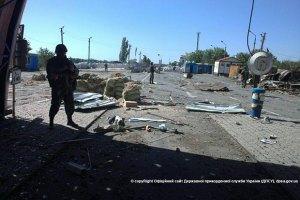 Таможенники РФ заявили о попадании снаряда в пункт пропуска «Новошахтинск»