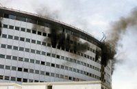 В Париже загорелся Дом Radio France