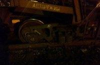 Поезд перекрыл трассу Киев - Чоп возле Львова
