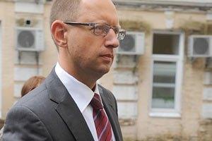 Яценюк не исключает санкций против власти после парламентских выборов