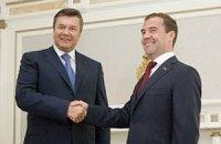 Медведев поздравил Януковича с праздником