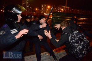 На скандальной стройке на Осокорках милиция избила местных жителей (добавлены фото)