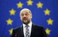 Шульц опроверг снижение интереса Европарламента к Украине