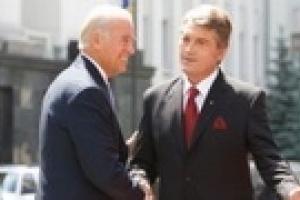 Ющенко встретил Байдена
