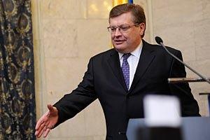 Грищенко говорил в Нидерландах о визах и зоне свободной торговли с ЕС