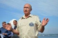 Путин в пятницу посетит аннексированный Крым