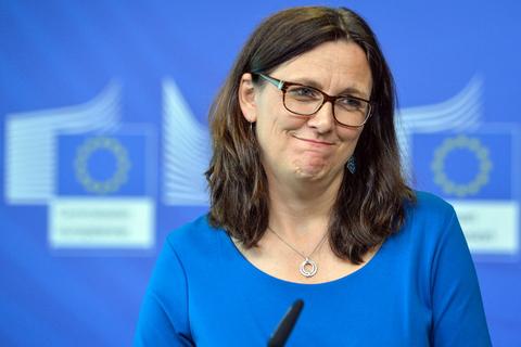 Еврокомиссар сообщила о продуктивных переговорах по ЗСТ с Украиной
