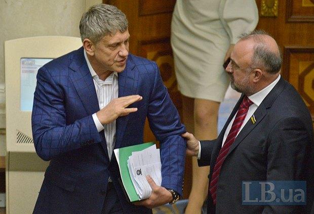 Ігор Насалик - ліворуч