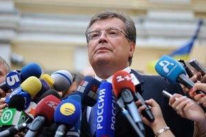 Грищенко: нас поддерживают США, ЕС и РФ