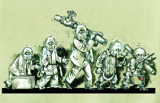 В українському конкурсі карикатур на Путіна переміг росіянин (фото)