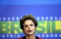 Отстраненная от власти президент Бразилии назвала временное правительство незаконным