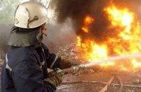 В Ровно сгорел рейсовый автобус