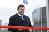 Завтра Янукович откроет новую развязку на Московской площади