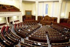 Рада попытается завтра рассмотреть закон о выборах