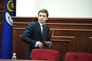 Довгий пришел на заседание Киевсовета