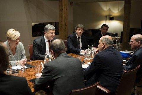 Порошенко обсудил сглавой ЕБРР новые проекты