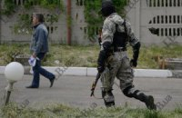 В Луганской области при штурме подразделения Нацгвардии террористы взорвали склад оружия