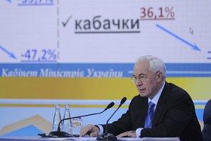 """Азаров: """"сегодняшние годы"""" - самые благоприятные в истории Украины"""
