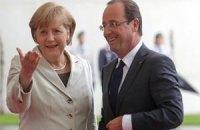 Олланд не підтримав заходів жорсткої економії Меркель