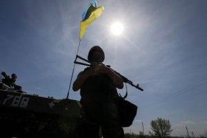 За сутки боевики семь раз обстреляли блокпосты АТО, - Минобороны