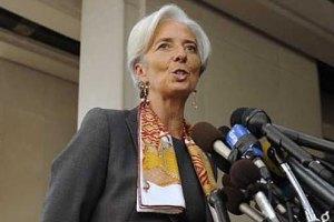 Глава МВФ пообіцяла знайти вихід із кризи