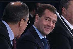 Президент проходит как хозяин. Президент России