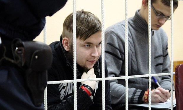 Григорий Гульвиченко(слева) и Олесь Черняк