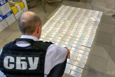 СБУ задержала вКропивницком налоговиков навзятке в100 тыс.