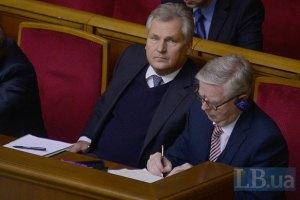 Кокс и Квасьневский пробудут в Украине до пятницы