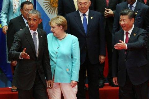 ВКремле заговорили овстрече Владимира Путина сОбамой насаммите G20