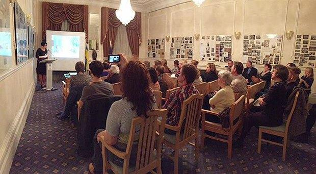 У Лондоні відбулася презентація книги про Майдан (фото)