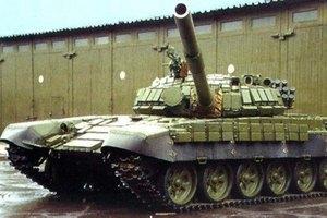 Два российских танка перебросили в Донецк