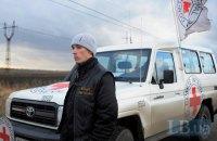 Красный Крест отправил 190 тонн гумпомощи на оккупированный Донбасс