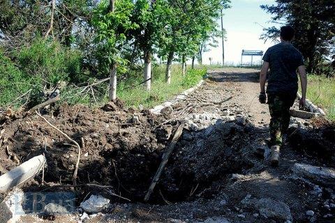 Боевики покинули разрушенное Широкино- Минобороны