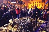 На Европейской площади начали устанавливать палатки