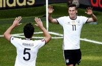 Германия разгромила словаков в 1/8 финала Евро-2016