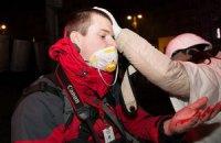 На Грушевского ранили троих журналистов