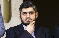 Главный переговорщик от сирийской оппозиции подал в отставку