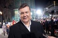 Янукович на Пасху пожелал украинцам урожая