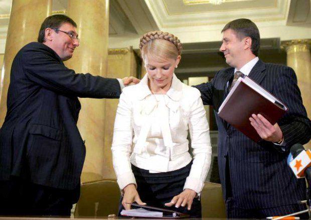 Луценко и Тимошенко остались соратниками и после развала «оранжевой» команды