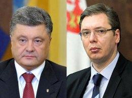 Порошенко обсудил с премьером Сербии увеличение наблюдателей ОБСЕ на Донбассе