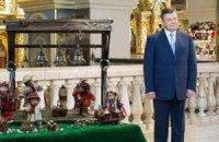 Янукович поздравил украинцев с Пасхой