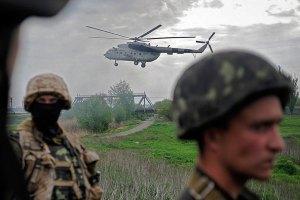 Силовики с потерями отступили с блокпоста под Славянском, - боец Нацгвардии