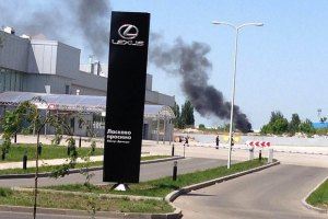 Авиация обстреляла террористов в аэропорту Донецка