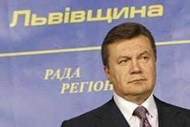 Янукович не став їсти у Львові