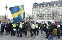 В Стокгольме сотня человек в масках напала на мигрантов