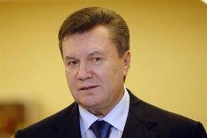 Янукович в Енакиево забыл название компании, ради которой приехал