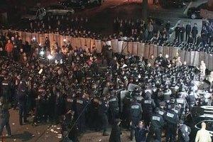 Милиция задержала четырех сторонников Маркова
