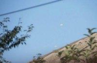 Парашюты в небе над Харцызском оказались тепловыми ловушками