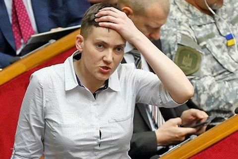 Савченко готова организовать встречу сЗахарченко иПлотницким вКиеве